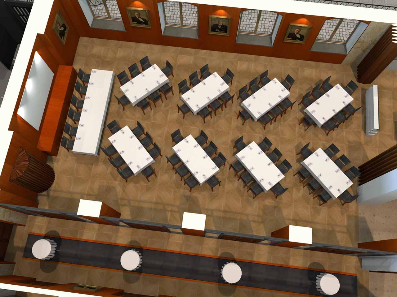 70 gäster Jernkontoret Festvåning i 3D