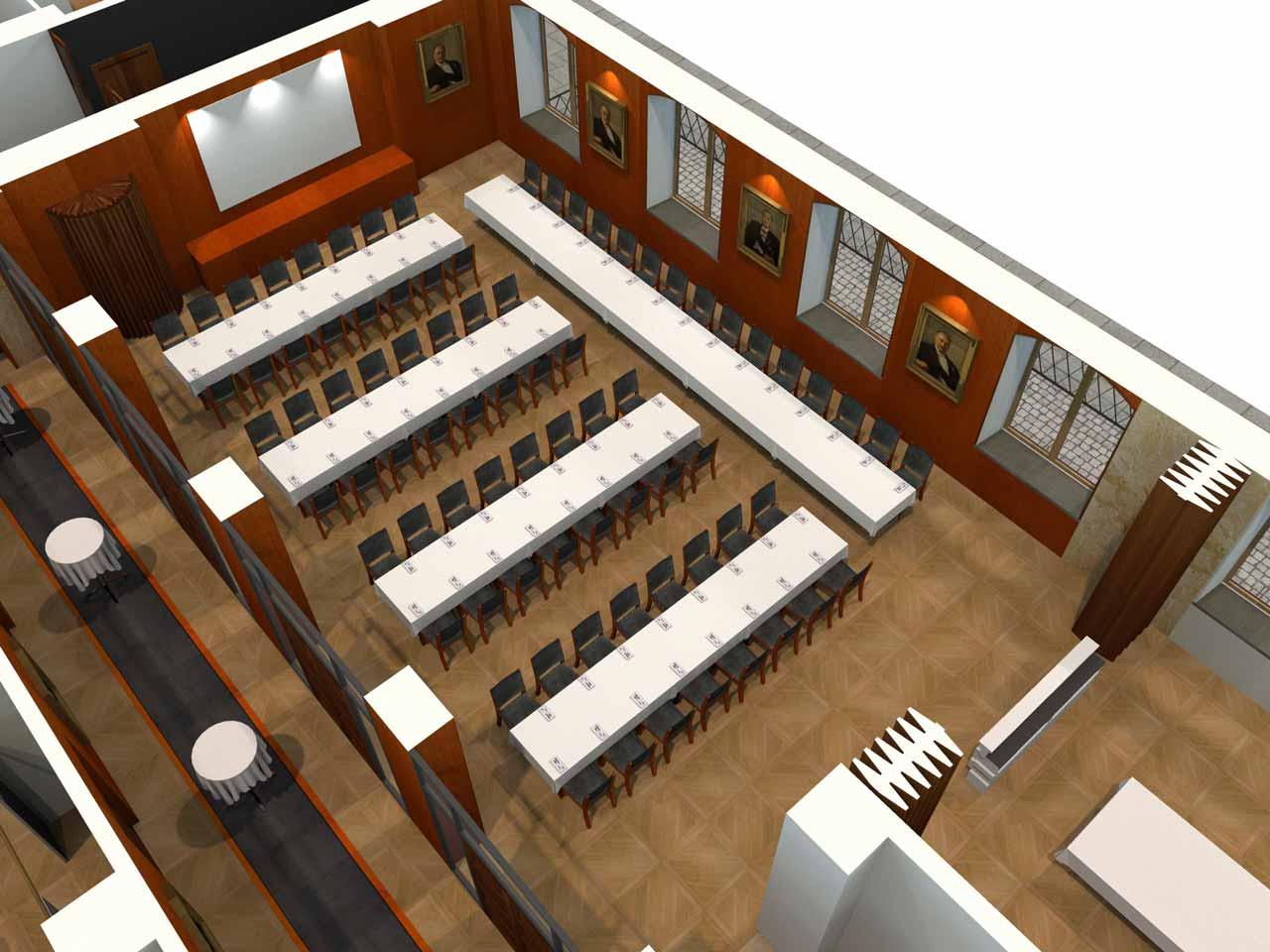 79 gäster Jernkontoret Festvåning i 3D