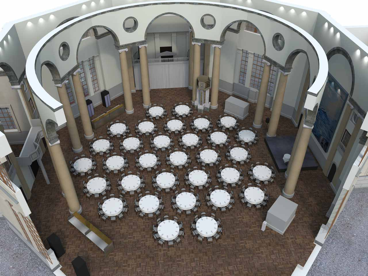 320 gäster Eric Ericsonhallen i 3D