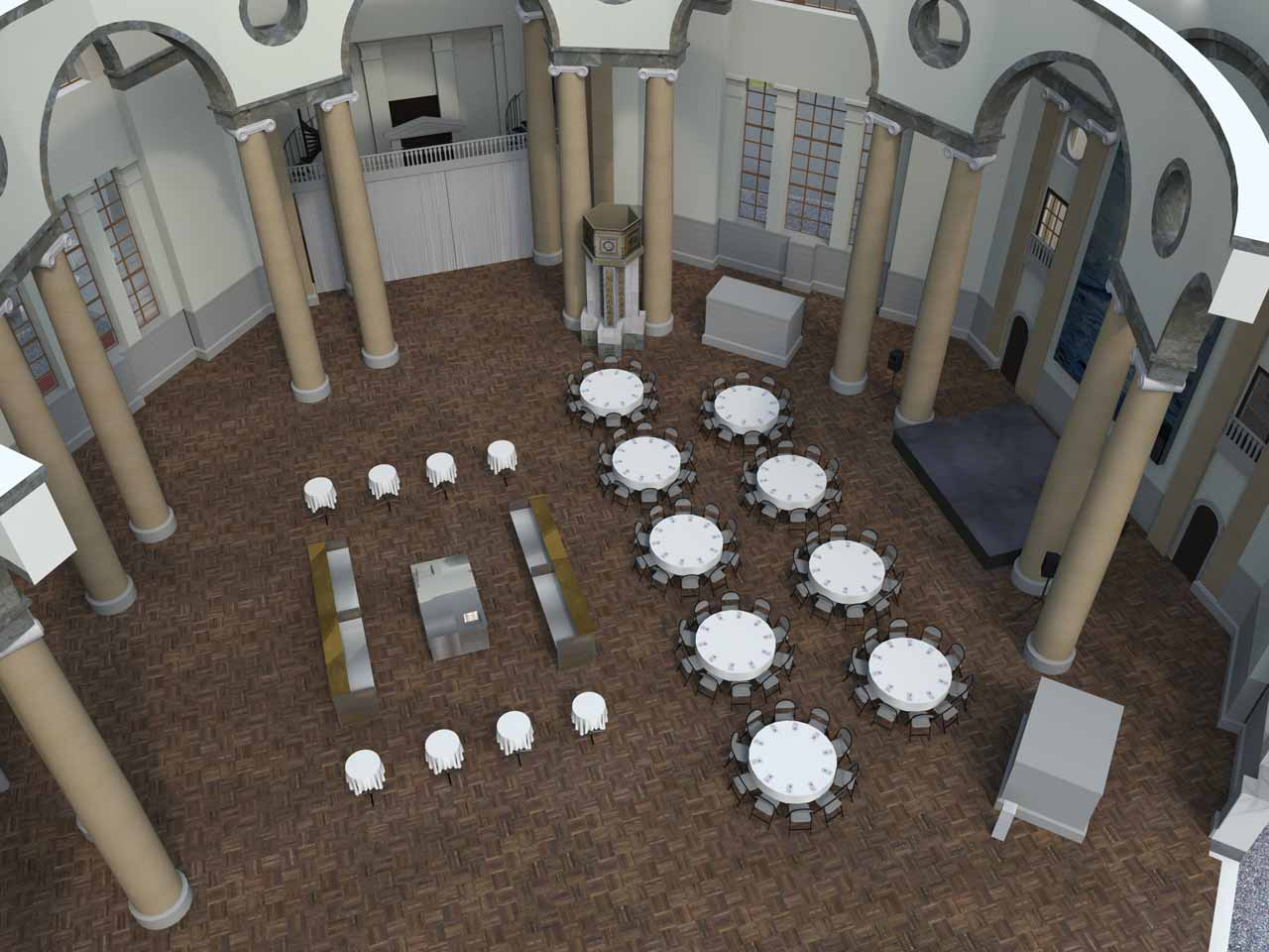90 gäster Eric Ericsonhallen i 3D