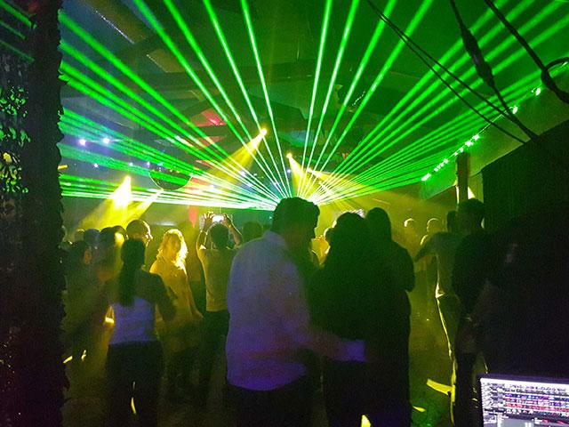 Eventhuset festvåning - Lasershow
