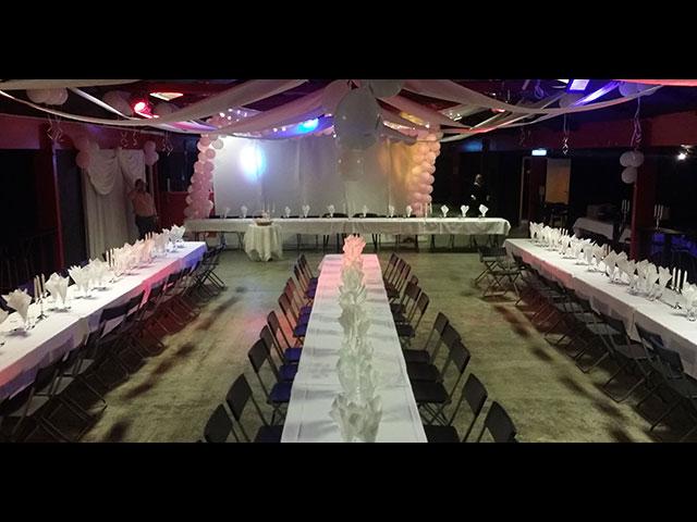 Eventhuset festvåning - Bröllopsdukning