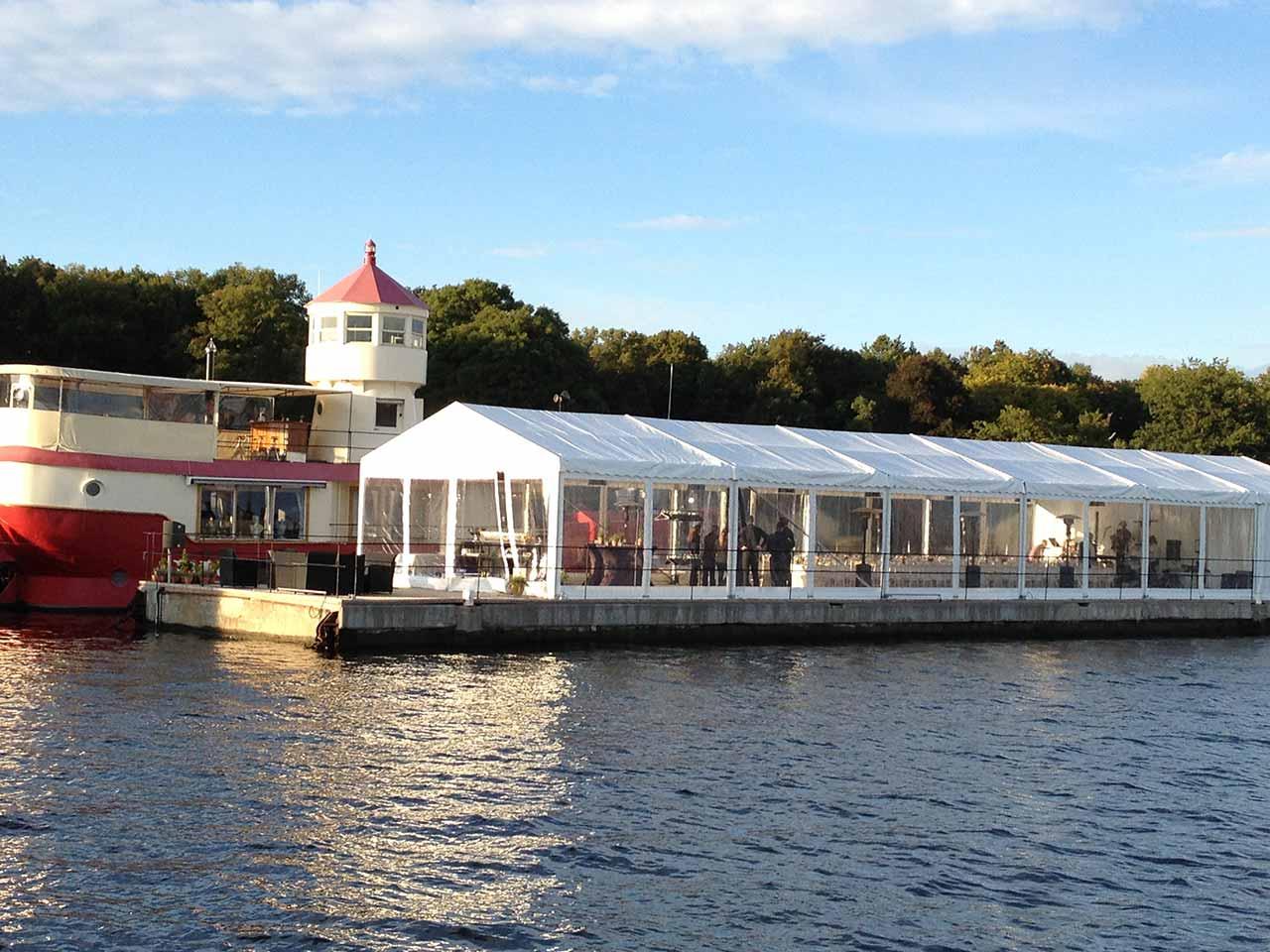 Fyrskeppet festlokal på Djurgården