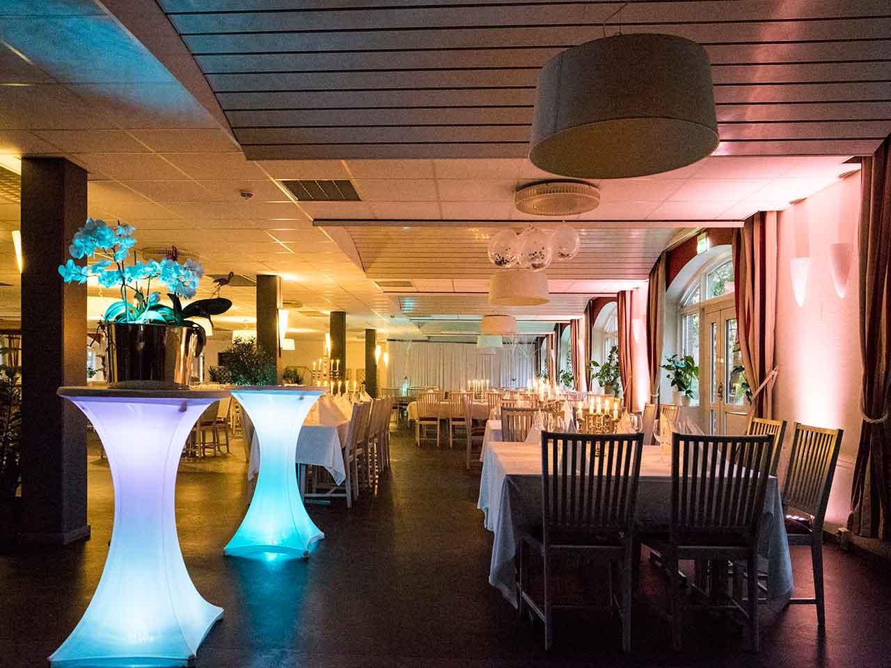 Bällstabro Värdshus - festlokal i Sundbyberg - Stora matsalen