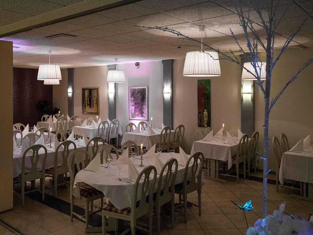 Bällstabro festvåning i Sundbyberg - Lilla matsalen