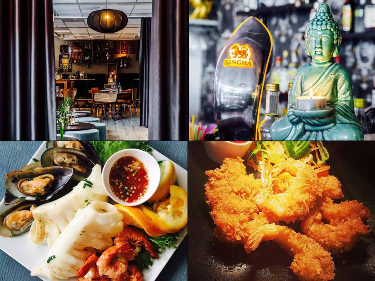 Thai stil festvåning - Bangkok Bistro