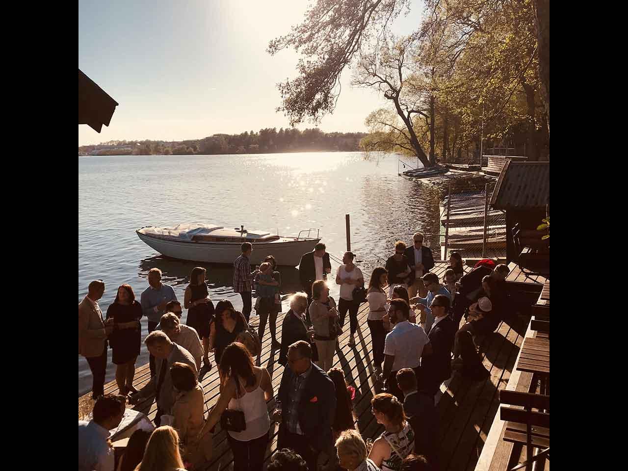 Båthuset festlokal i Solna