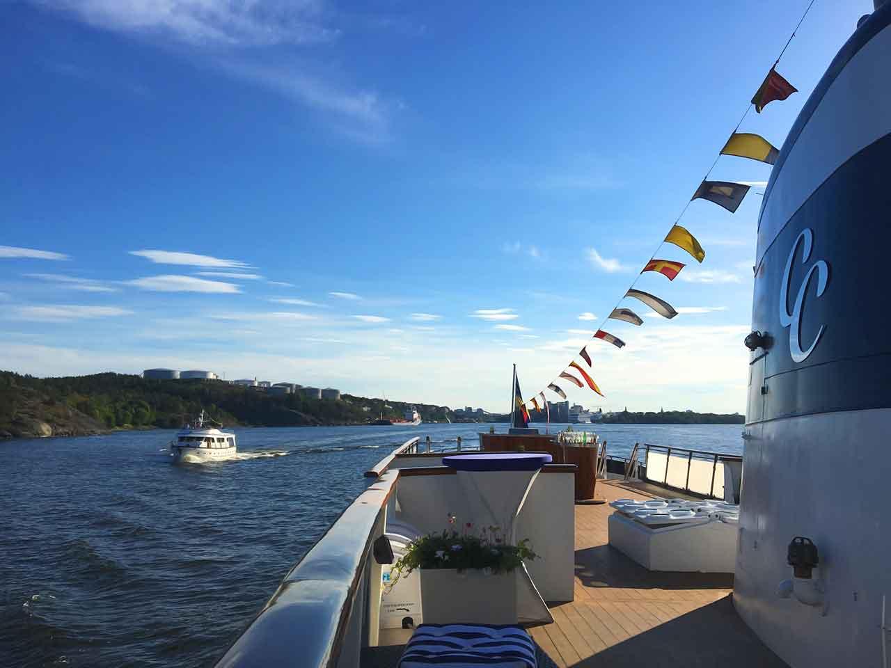 Blue Charm - Festvåning / båtcharter