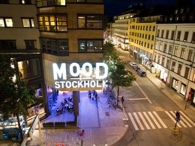 Utsikt från Bygget på Norrlandsgatan