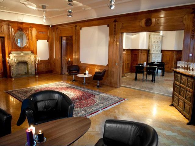 Clustrets lounge på plan 1.