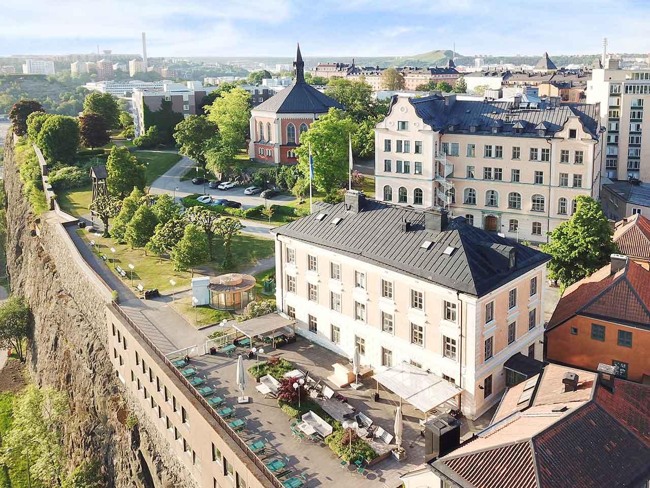 Ersta Terrass - festvåning med utsikt över Djurgården