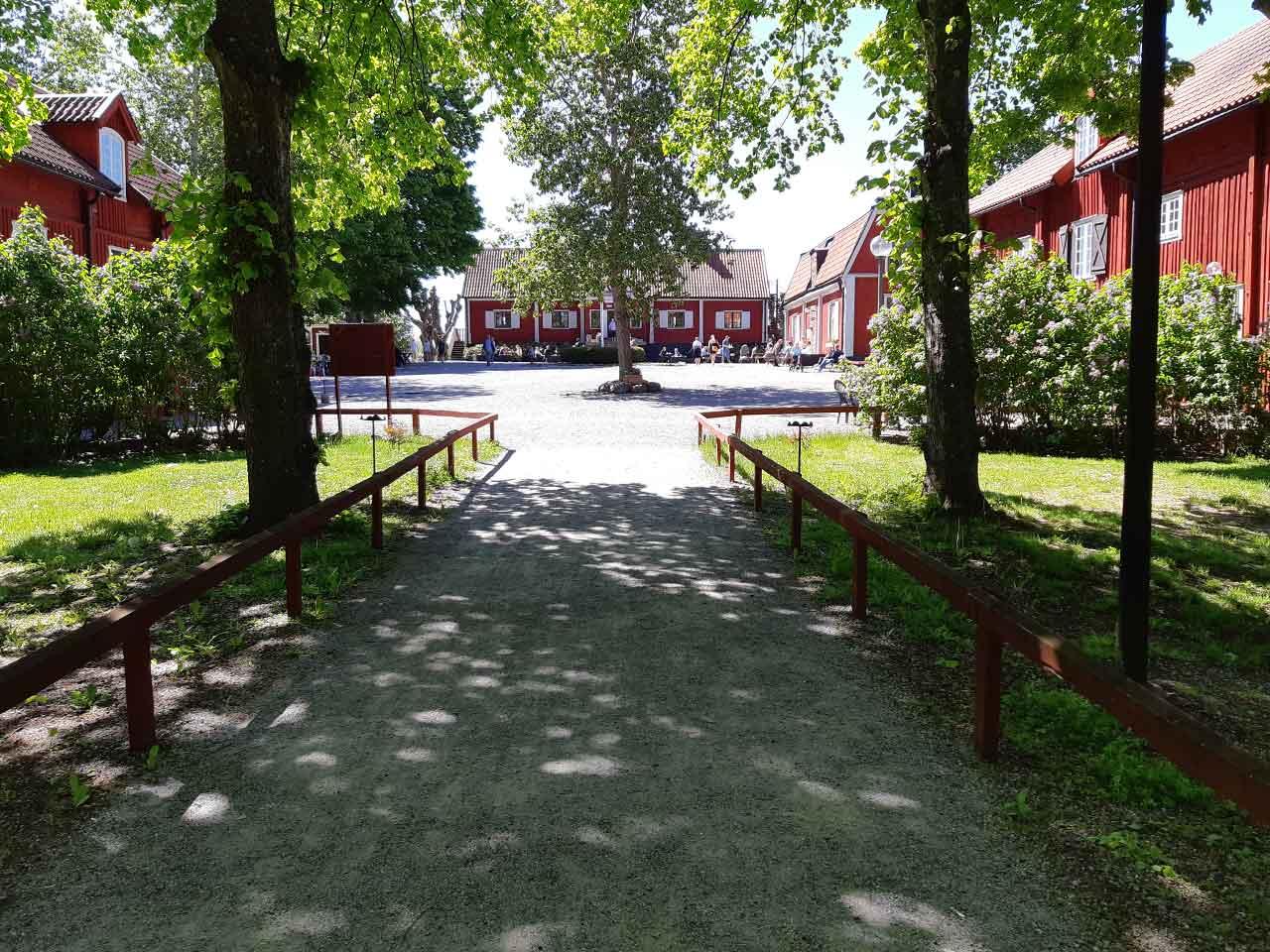 Farsta Gård - festlokal Flygeln