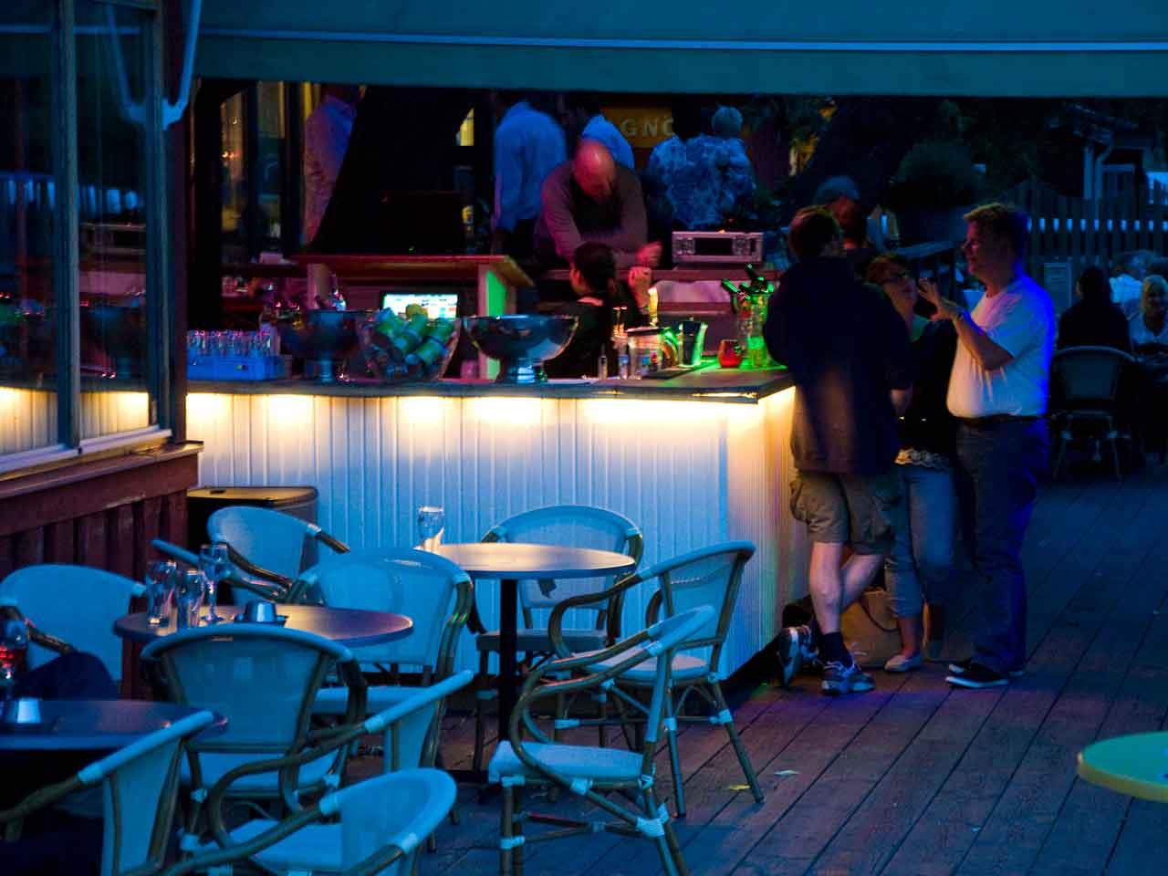 K4 - Festlokal i Pampas Solna - utebar