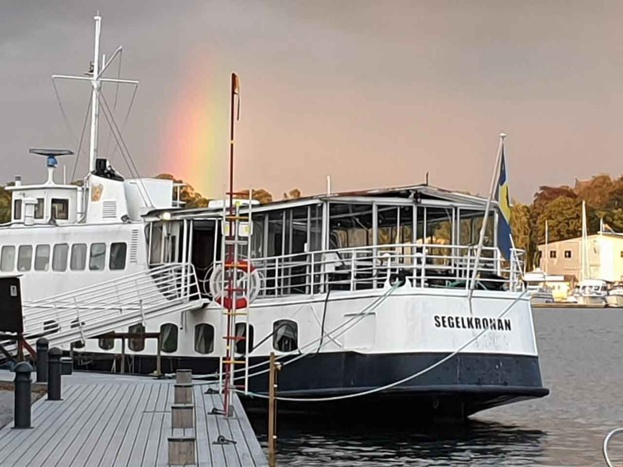 Segelkronan festlokal på Skeppsholmen