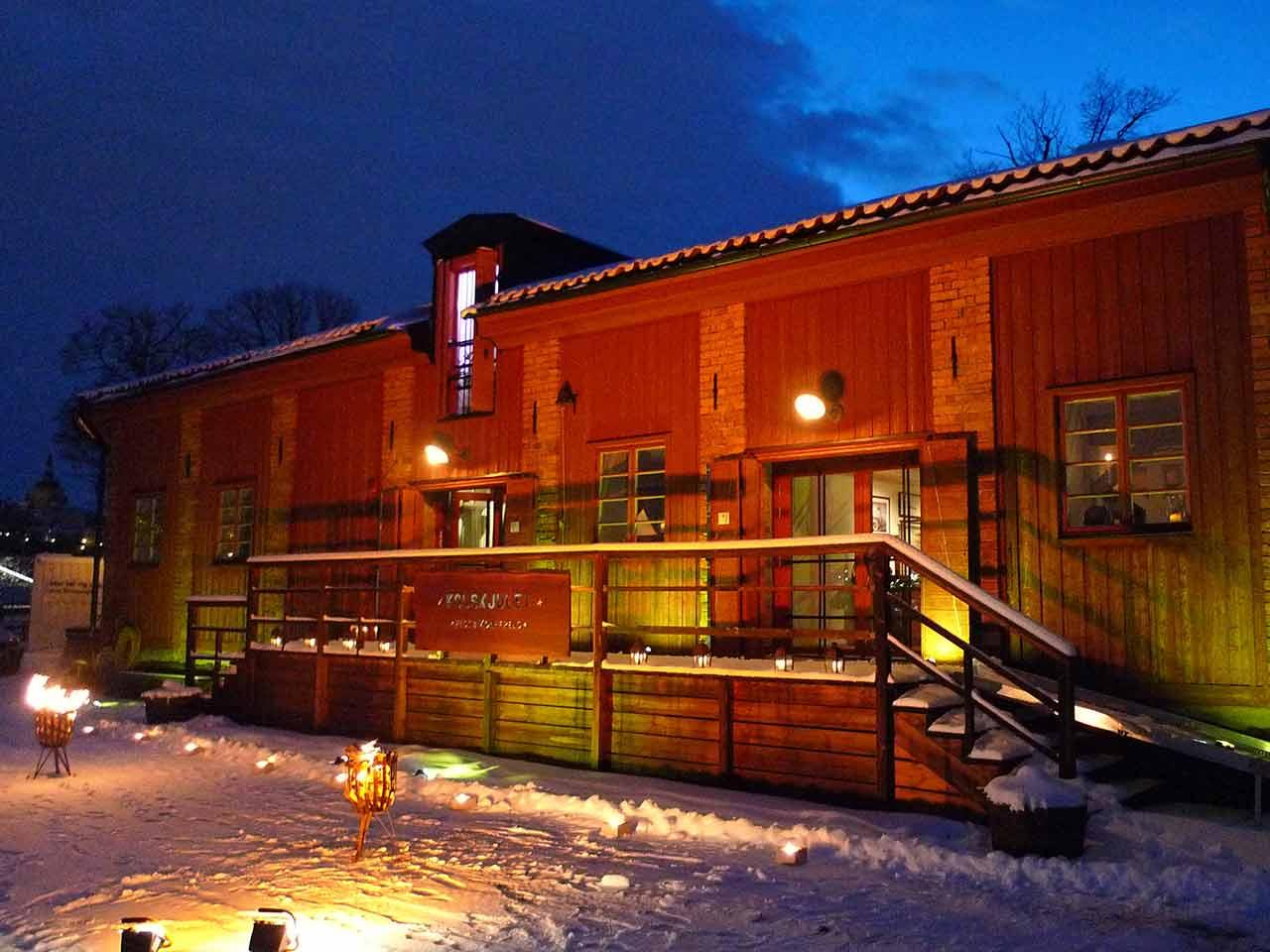 Kolskjulet Festvåning - Vintertid