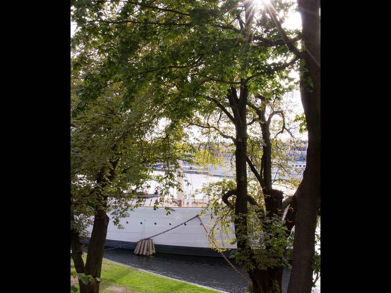 Skeppsholmens Krogkonst - Utsikt över Af Chapman