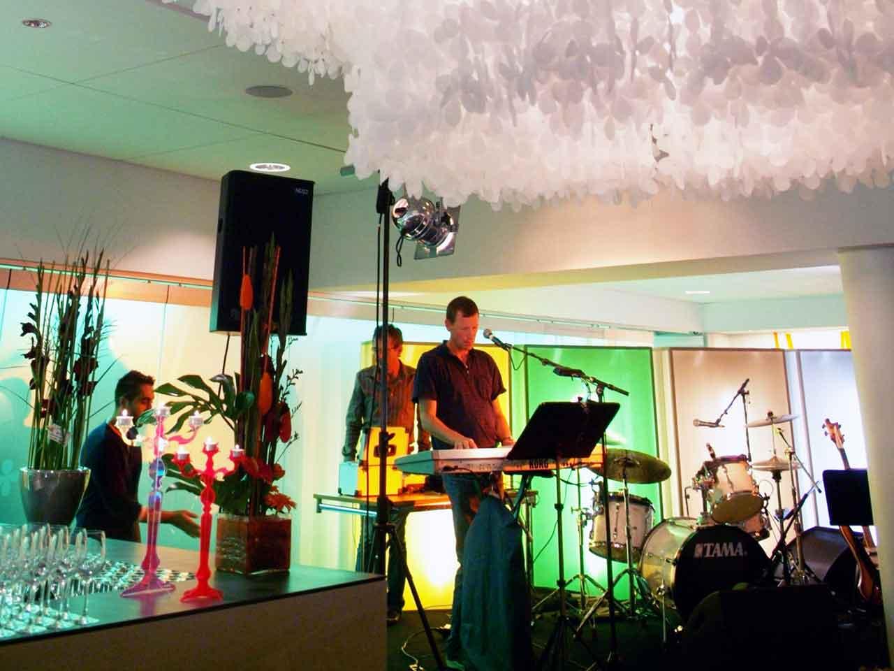 Stor festlokal i Älvsjö - Scen