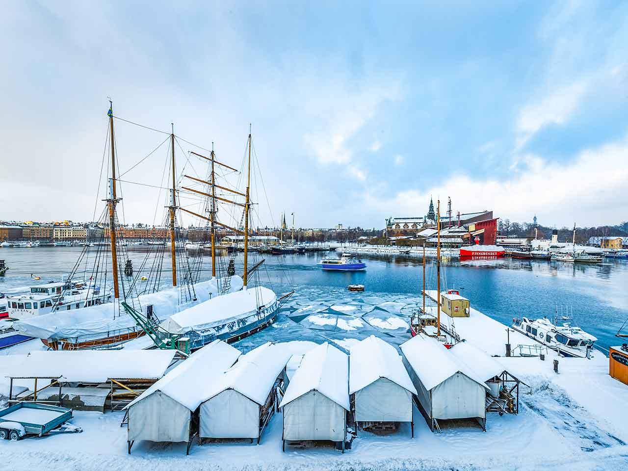Festlokal med sjöutsikt Skeppsholmen